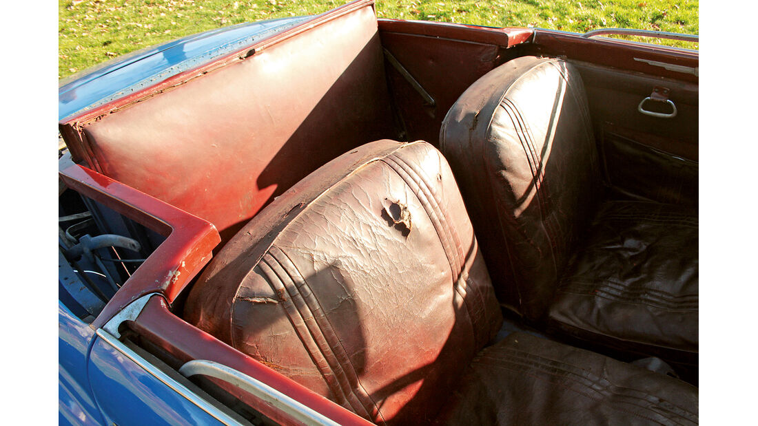 Fiat 1500 Ghia, Fondsitze