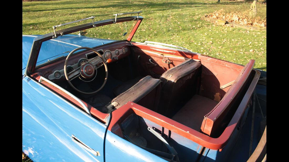 Fiat 1500 Ghia, Innenraum