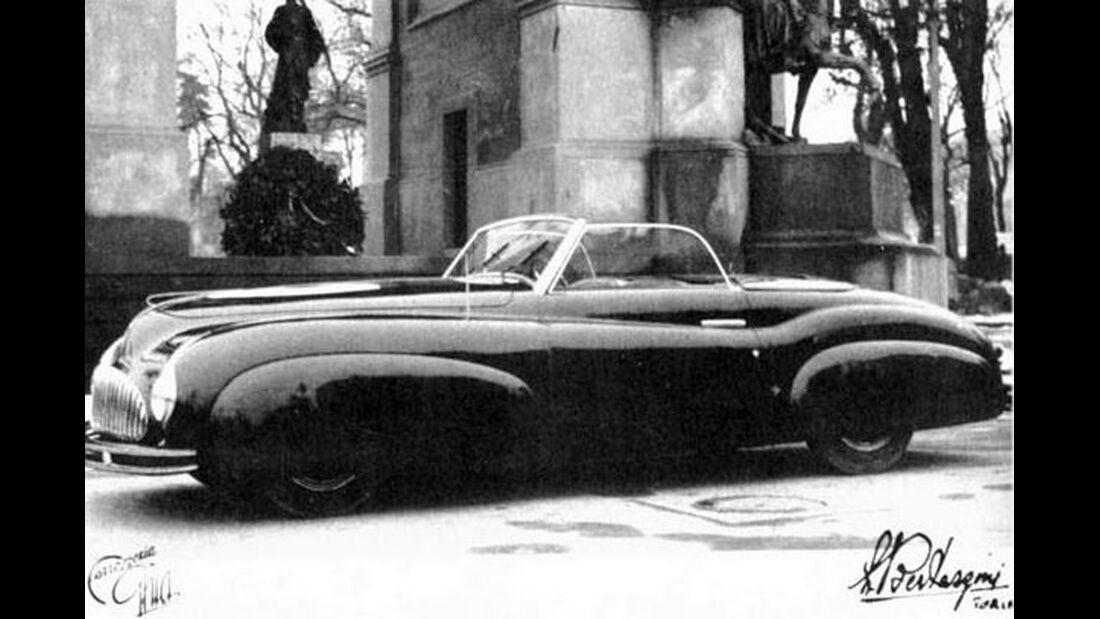 Fiat 1500 Ghia, Mailand