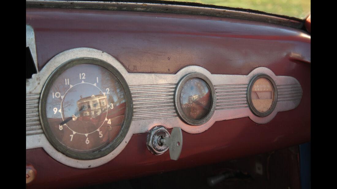 Fiat 1500 Ghia, Rundinstrumente
