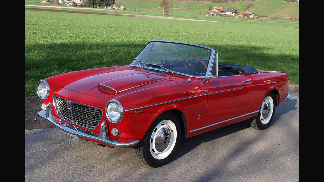 Fiat 1600 S Spider O.S.C.A.