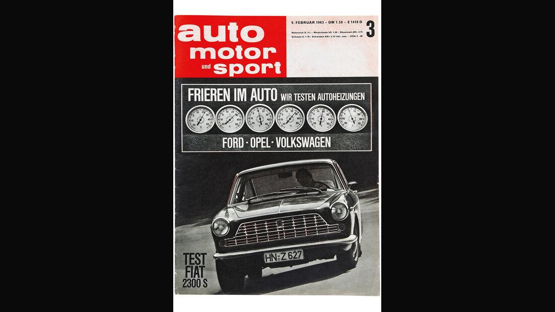 Fiat 2300 S Coupé, auto motor und sport Cover