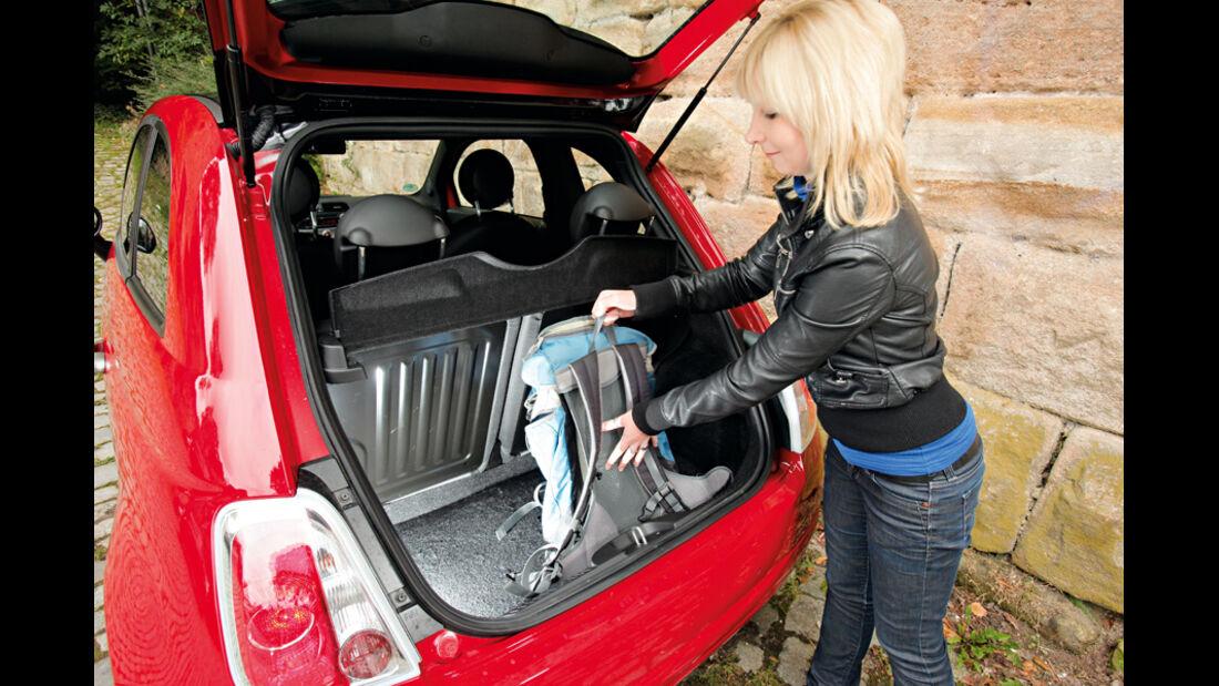 Fiat 500 0.9 Twinair Lounge, Kofferraum