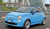 Fiat 500 1.2 8V, Frontansicht