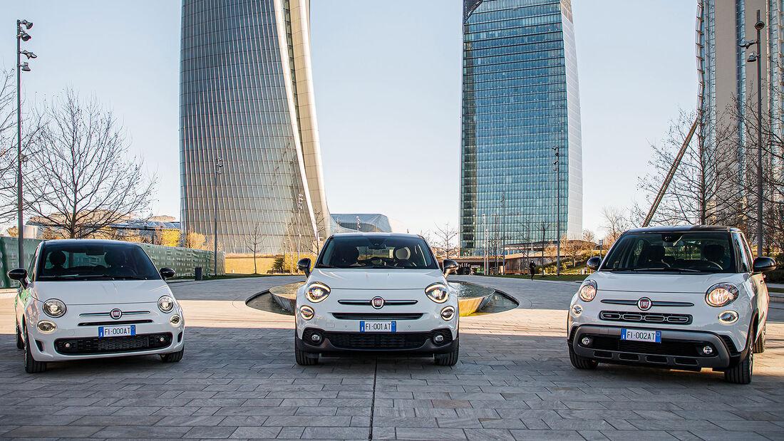 Fiat 500, 500X und 500L Hey Google Sondermodelle