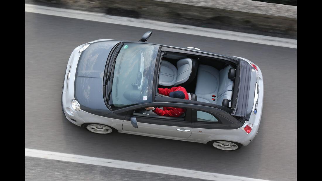 Fiat 500 Abarth 595C Turismo, Draufsicht