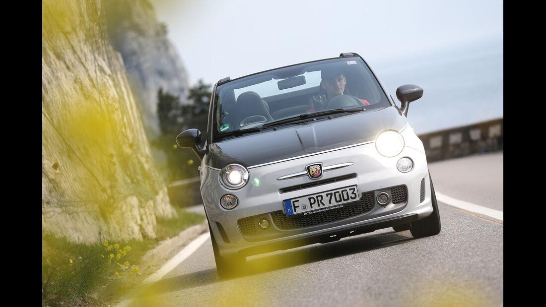 Fiat 500 Abarth 595C Turismo, Frontansicht