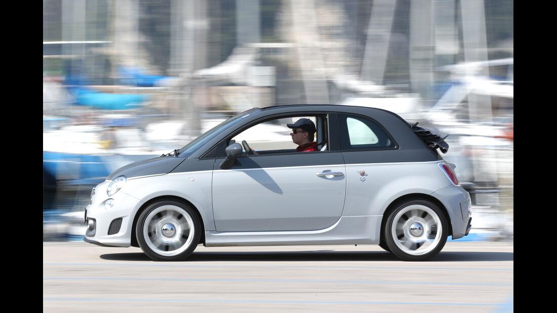 Fiat 500 Abarth 595C Turismo, Seitenansicht