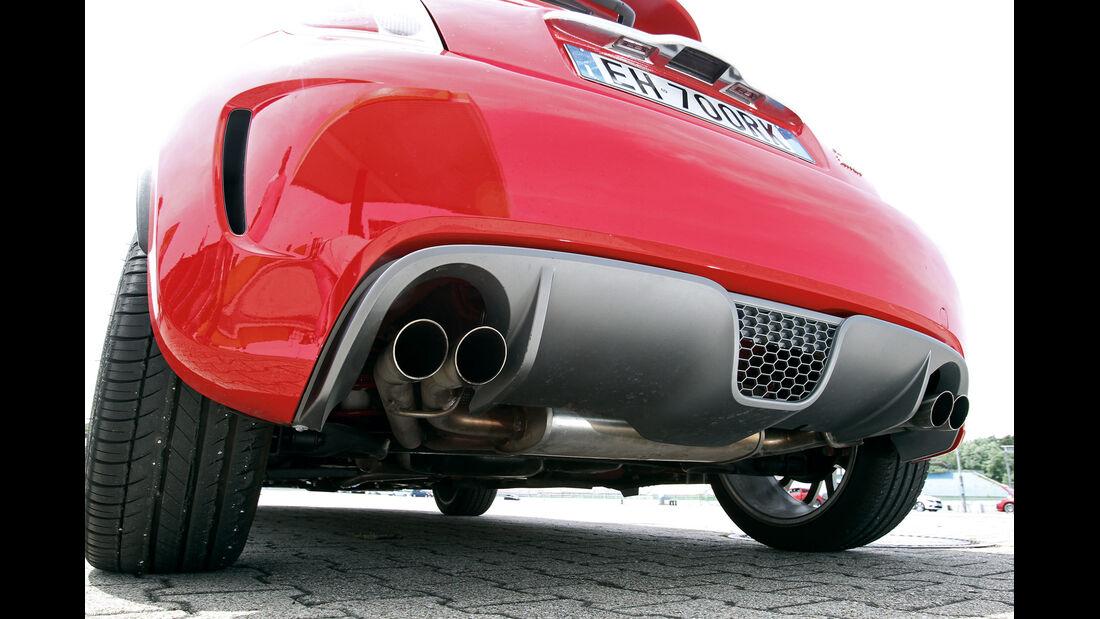 Fiat 500 Abarth, Endrohr, Auspuff