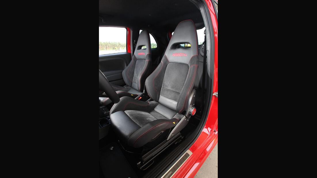 Fiat 500 Abarth, Fahrersitz