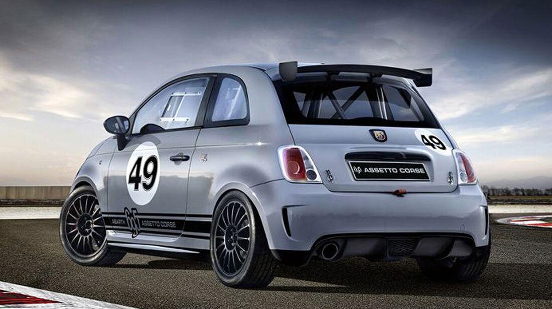 Fiat 500 Assetto Corse Abarth