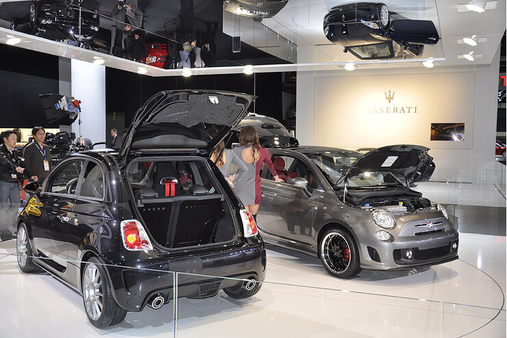 Fiat 500 BEV, Detroit, NAIAS