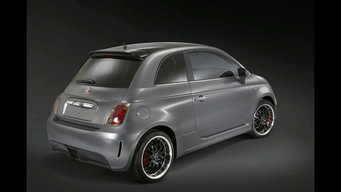 Fiat 500 BEV Heckansicht
