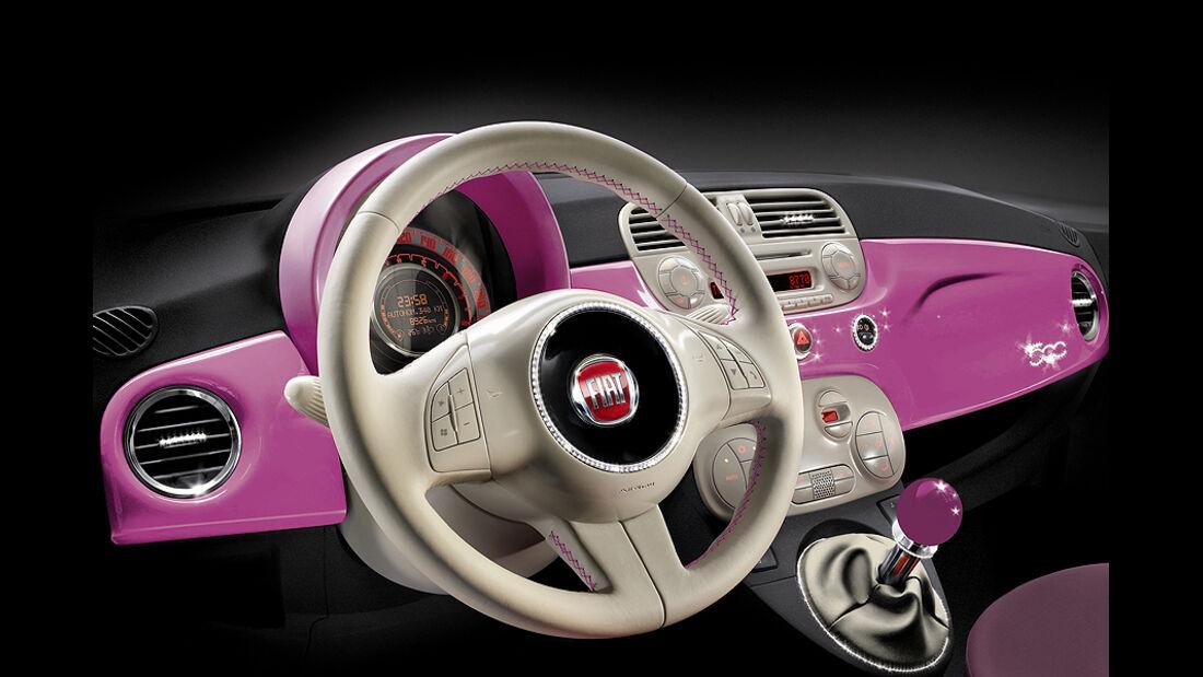 Fiat 500 Barbie Lenkrad