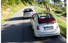 Fiat 500 C 1.2 8V Lounge, Smart Fortwo Cabrio mhd Passion