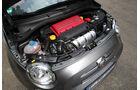 Fiat 500 C Abarth 1.4 T-Jet 16V, Motor, Motorraum