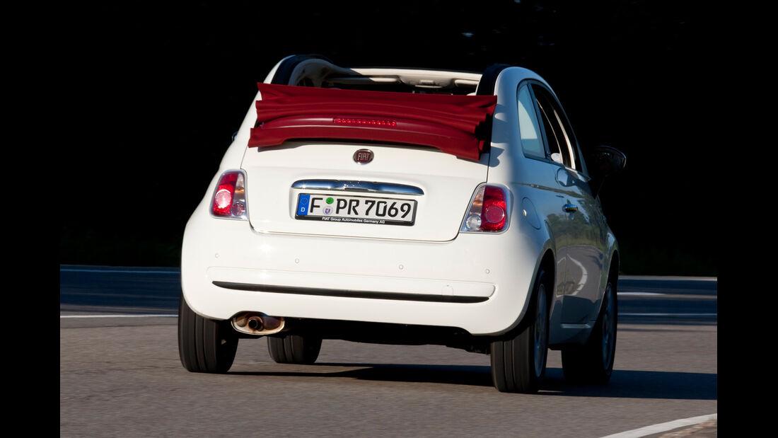 Fiat 500 C, Heckansicht