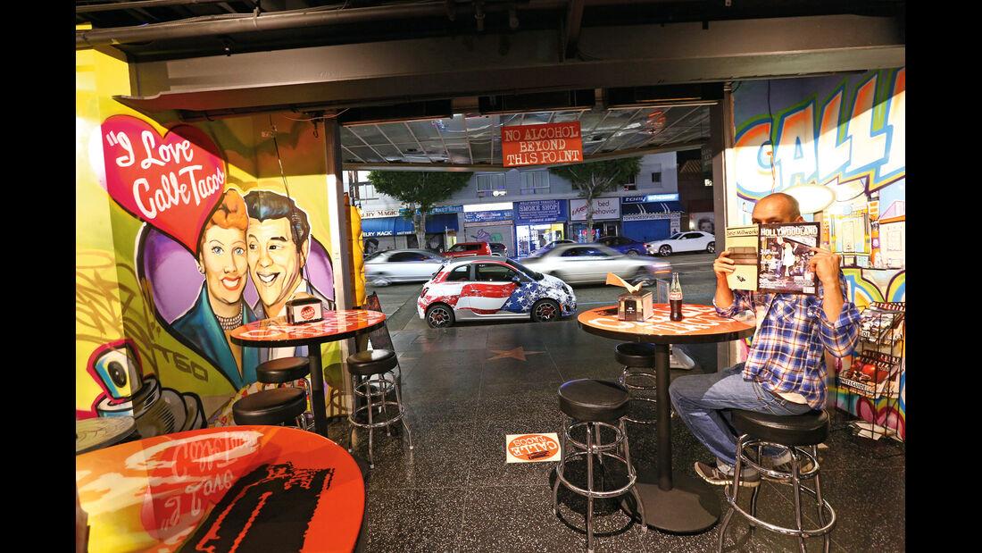 Fiat 500, Cafe
