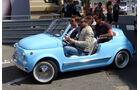 Fiat 500 -  Carspotting - Formel 1 - GP Monaco 2015