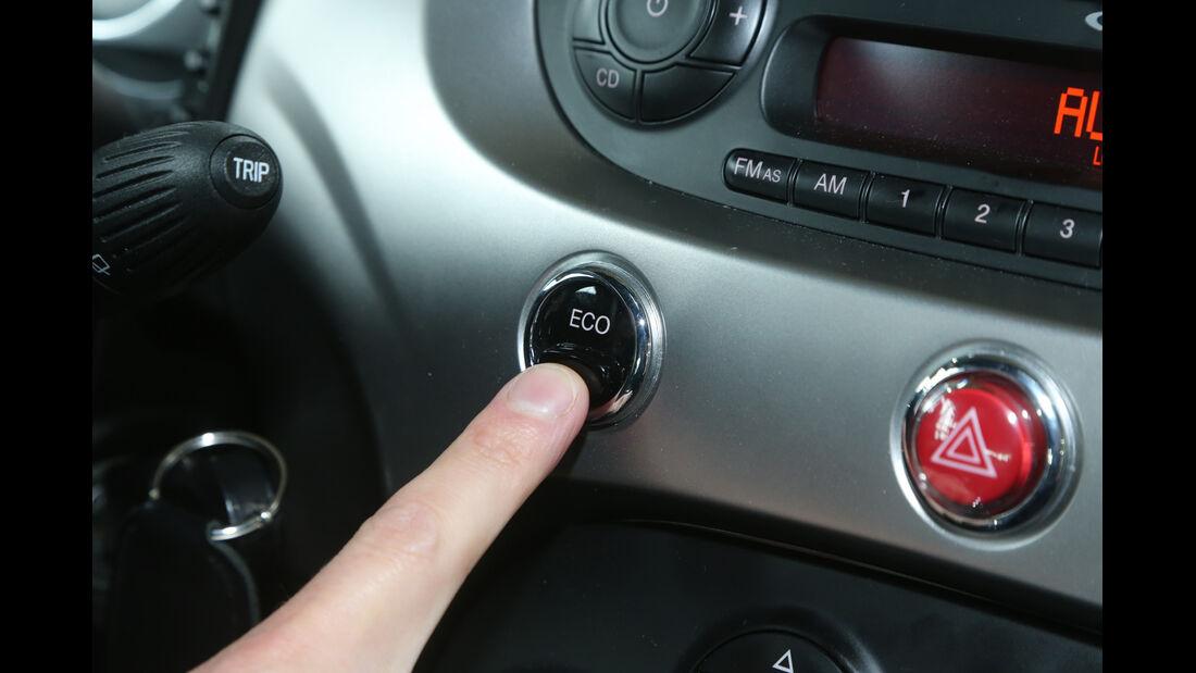 Fiat 500, Eco-Taste, Bedienelement