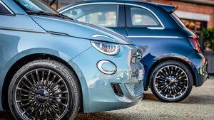 Fiat 500, Exterieur