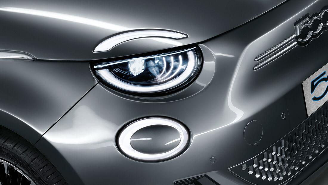 Fiat 500, Exterieur/Interieur