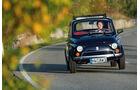 Fiat 500  - Fahraufnahme