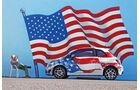 Fiat 500, Flagge, USA