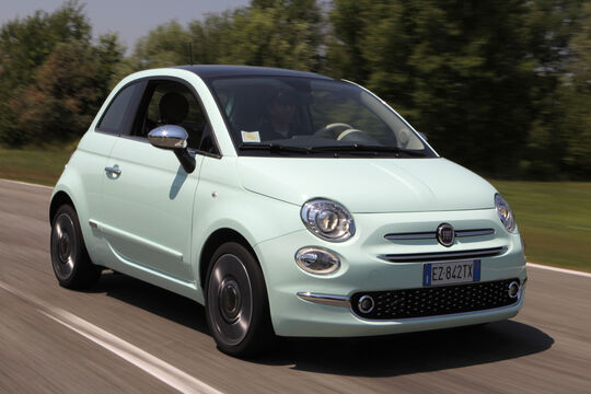 Fiat 500, Frontansicht