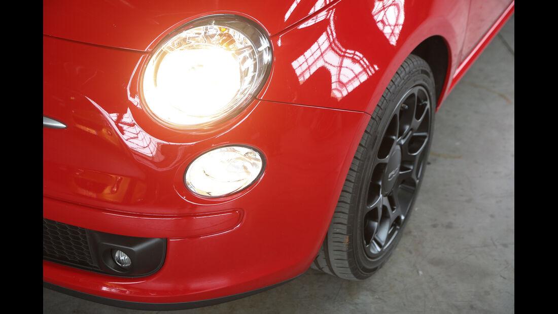 Fiat 500, Frontscheinwerfer