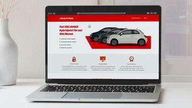 Fiat 500 Hybrid bei Media Markt