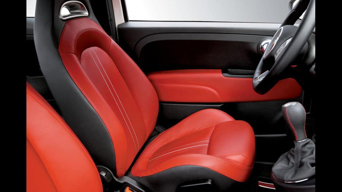 Fiat 500 Innenraum