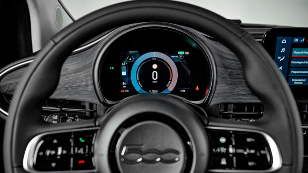 Fiat 500, Interieur