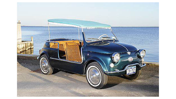 Fiat 500 Jolly Beach Car - Frontansicht