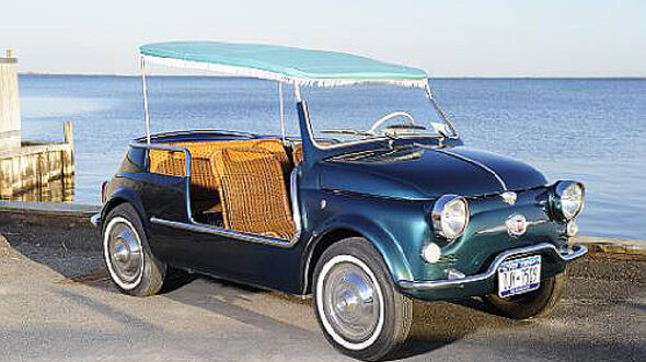 Fiat 500 Jolly Beach Car - Frontansicht