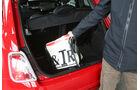 Fiat 500, Kofferraum