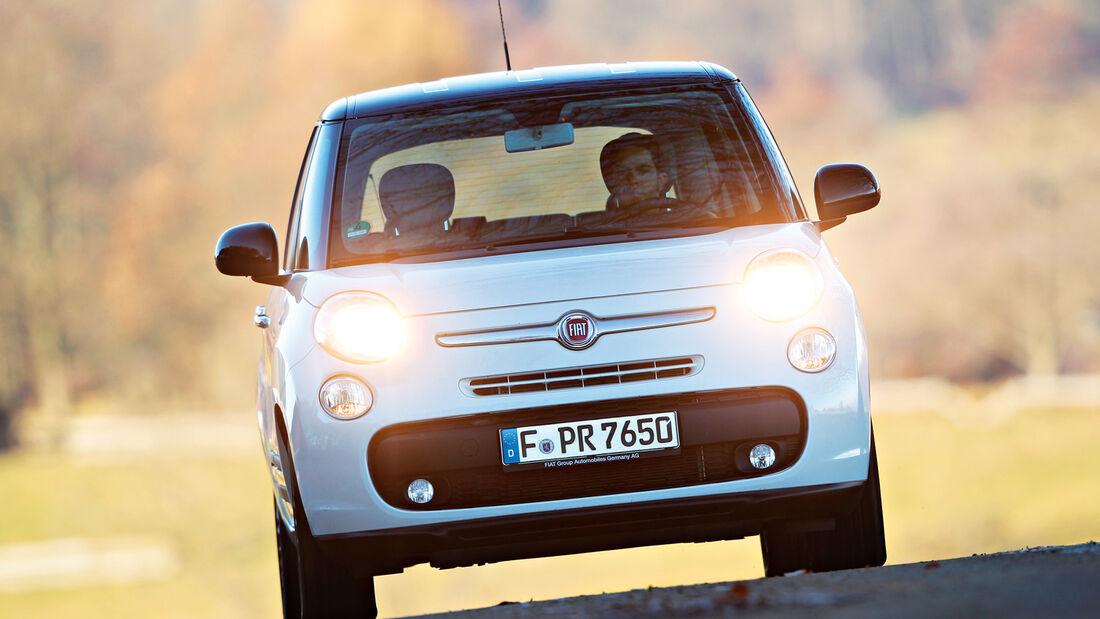 Fiat 500 L 1.4 16V, Frontansicht