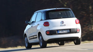 Fiat 500 L 1.4 16V, Heckansicht
