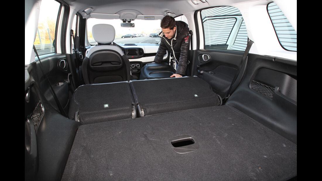 Fiat 500 L 1.4 16V, Ladefläche, Kofferraum