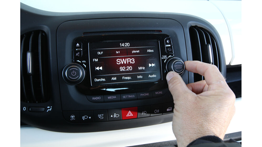 Fiat 500 L 1.4 16V, Radio, Infotainment