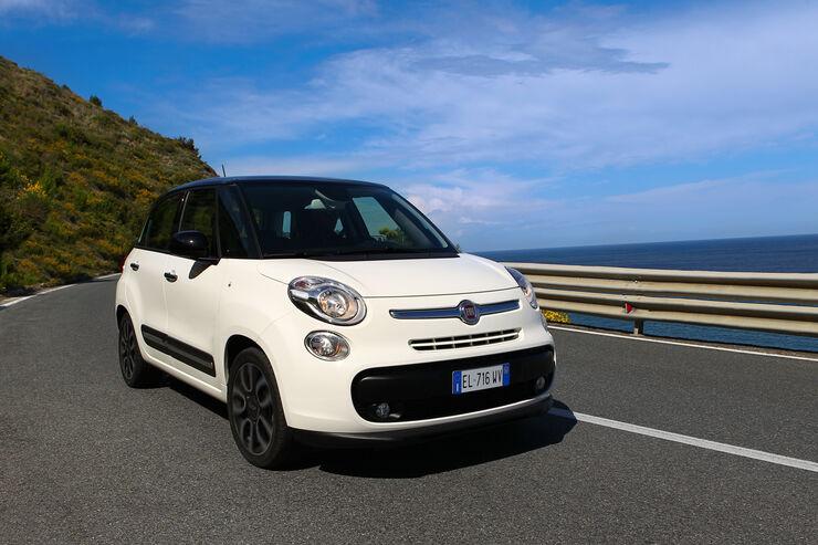 Fiat 500 L, Frontansicht