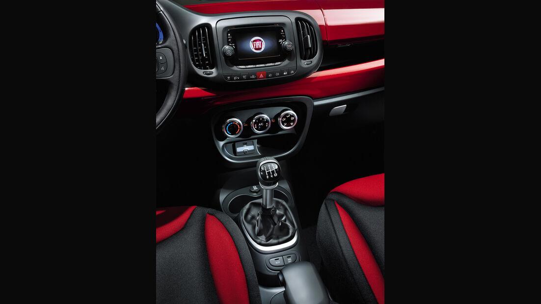 Fiat 500 L, Mittelkonsole