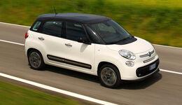 Fiat 500 L, Seitenansicht
