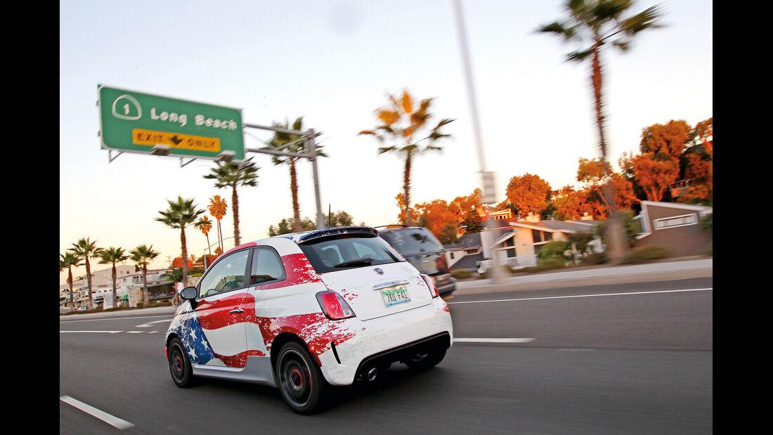Fiat 500, Long Beach