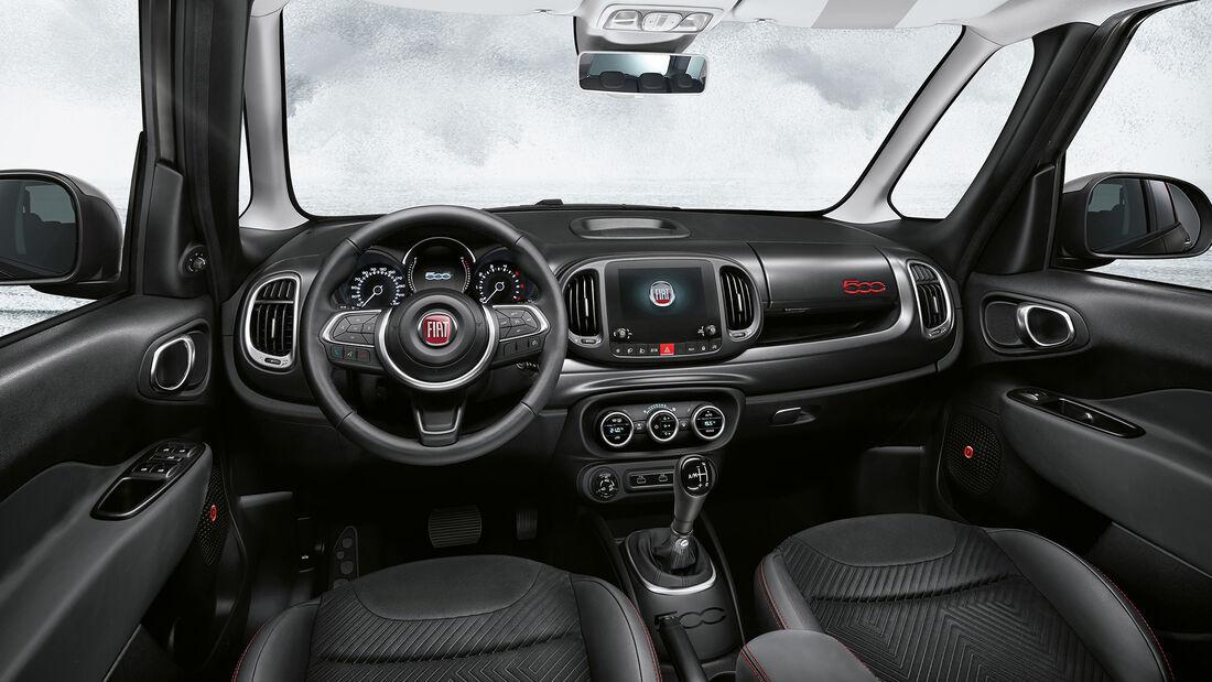 Fiat 500 Modellfamilie 2021 Cult Cross Sport Dolcevita 500X 500L