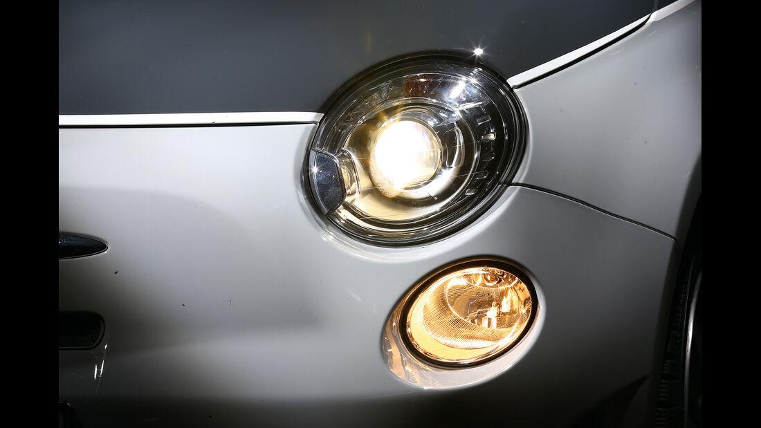 Fiat 500, Scheinwerfer