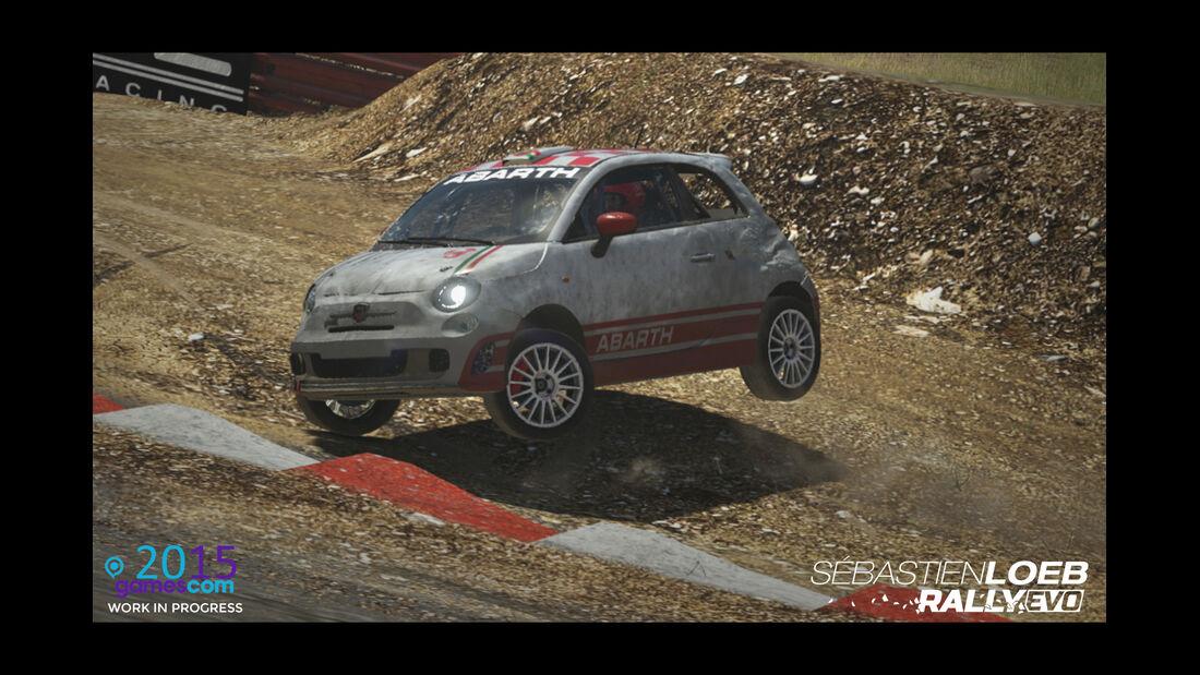 Fiat 500 - Screenshot - Sebastien Loeb Rally Evo