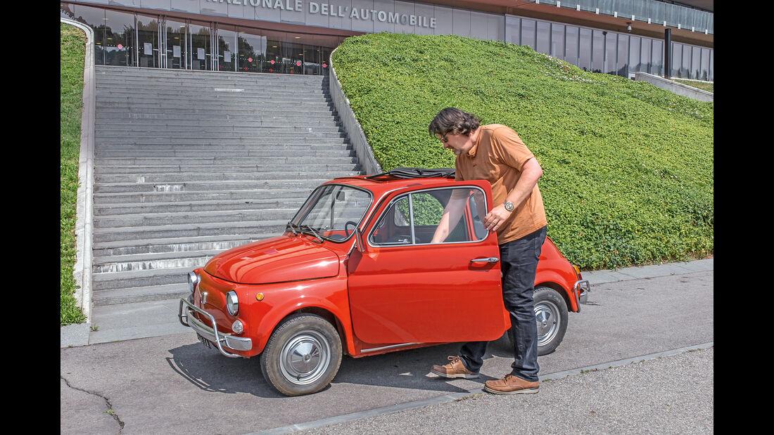 Fiat 500 Seite