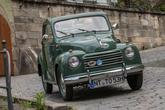 Fiat 500 Topolino, Frontansicht