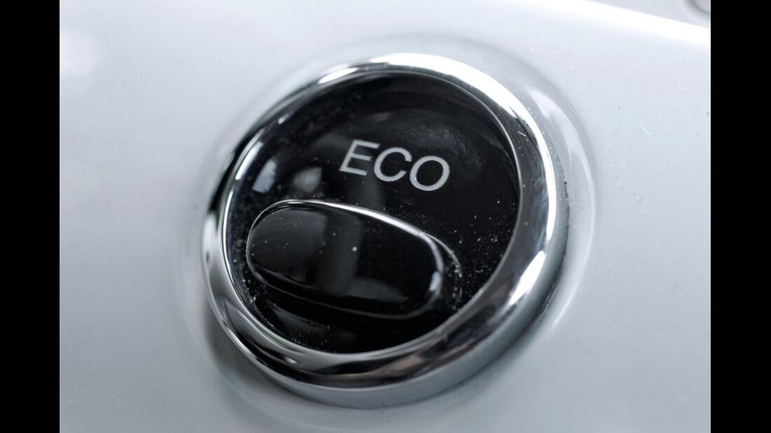 Fiat 500 Twin Air, Eco, Cinquecento, Emblem, Detail